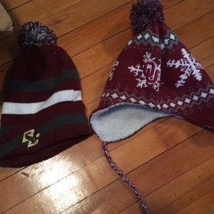 Winter hats BC and OU